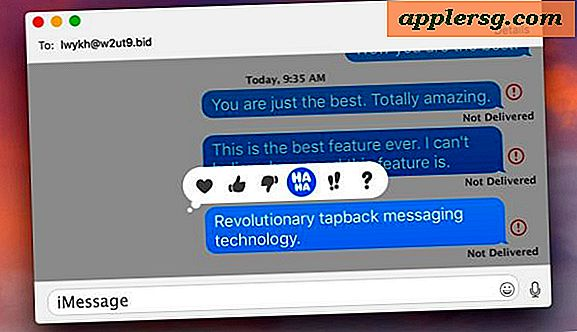 Come usare Tapback Messages su Mac