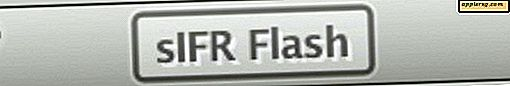 sIFR Flash - Så här visar du SIFR Flash Text med en Flash Block Plugin installerad