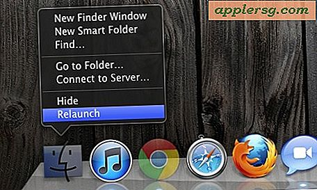 Relaunch Finder ... aus dem Mac OS X Finder