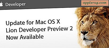 Mac OS X Lion Dev Preview 2 Oppdatert utgitt, Developer Preview 3 Soon?