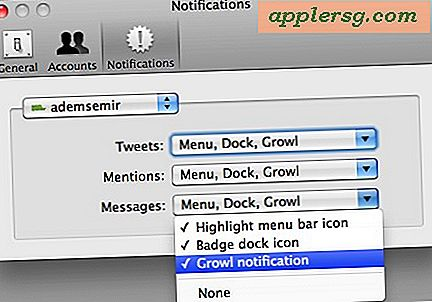 Aktivér Growl Notifications i Twitter til Mac