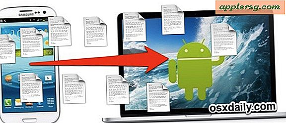 Monter Android som en diskdrev i Mac OS X til Easy File Storage & Access