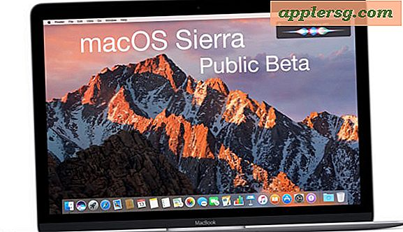 Download en installeer nu MacOS Sierra Public Beta