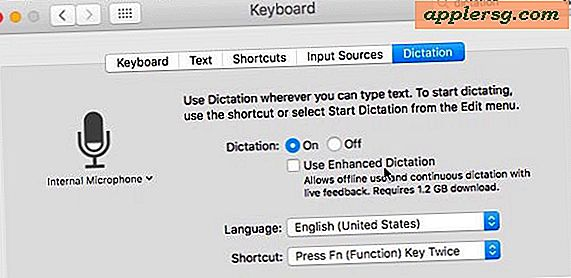 Sådan fjerner du Enhanced Dictation 1.2GB Pack fra Mac