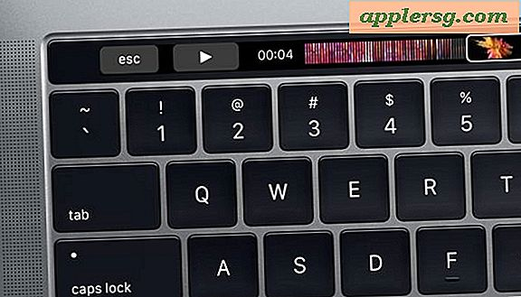 Brug Escape-tasten på Touch Bar MacBook Pro