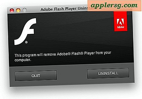 Désinstallez Flash à partir d'un Mac