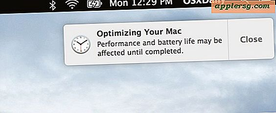 "De ""Optimizing Your Mac"" -kennisgeving in Mac OS X uitgelegd"