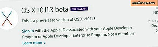 OS X 10.11.3 Beta 1 frigivet til test