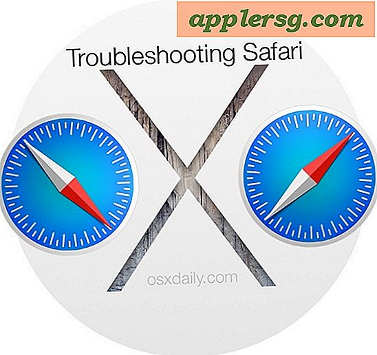 Problembehebung bei Safari Freezes & Crashing in Mac OS X