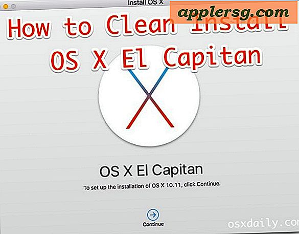 Comment nettoyer installer OS X El Capitan sur un Mac