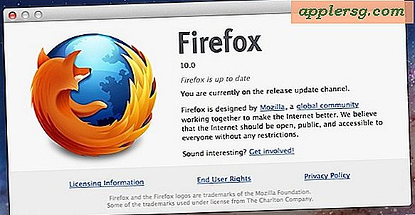 Firefox 10 Udgivet for at downloade