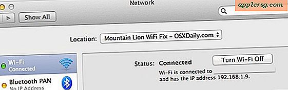 Fix OS X Mountain Lion Wireless Connection Problemer