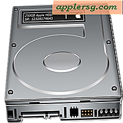 Partitioner en harddisk i Mac OS X