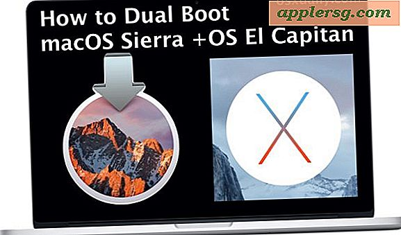 Så här installerar du MacOS Sierra 10.12 Beta Safe & Dual Boot El Capitan