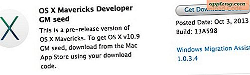 OS X Mavericks GM Tillgänglig för Developer Download, Public Release Soon