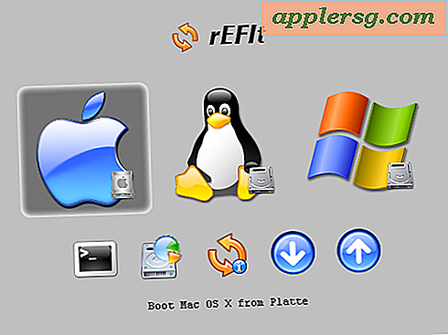 Triple Boot Mac, Windows und Linux, mit rEFIt ohne Boot Camp