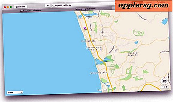 Bruk faner i Maps for Mac