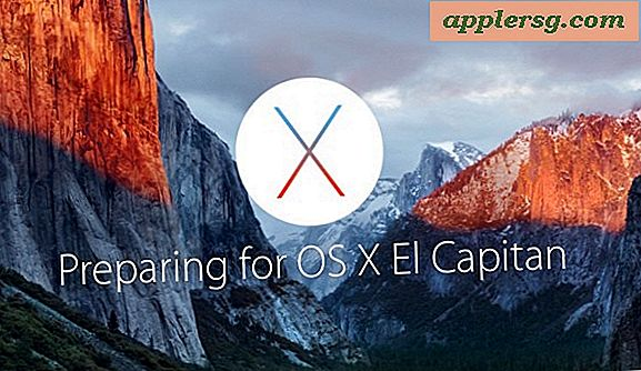 6 trinn for å forberede en Mac for OS X El Capitan Update