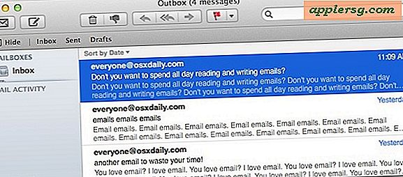 Slet Mail i Mac OS X Ligesom Outlook, Smart Way