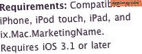 Ix.Mac.MarketingName Reference vises og forsvinder fra iOS App Store