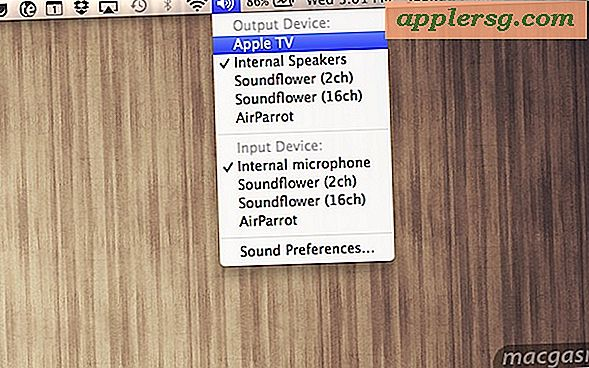 Stream alle Mac-systeemaudio over AirPlay in OS X