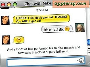 Messages de style de notification de diffusion dans iChat