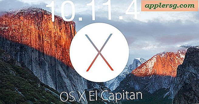 OS X 10.11.4 El Capitan Update til rådighed for download