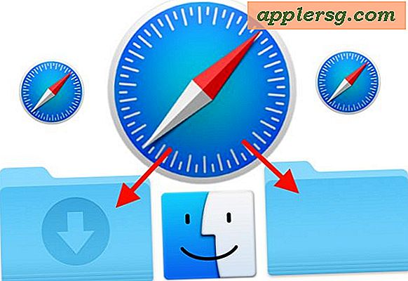Hoe de Safari Downloadlocatie in Mac OS te veranderen