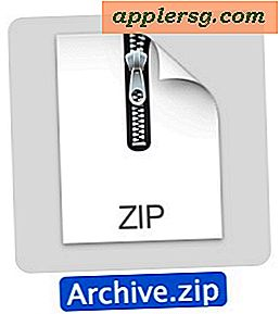 Zip-Dateien in Mac OS X