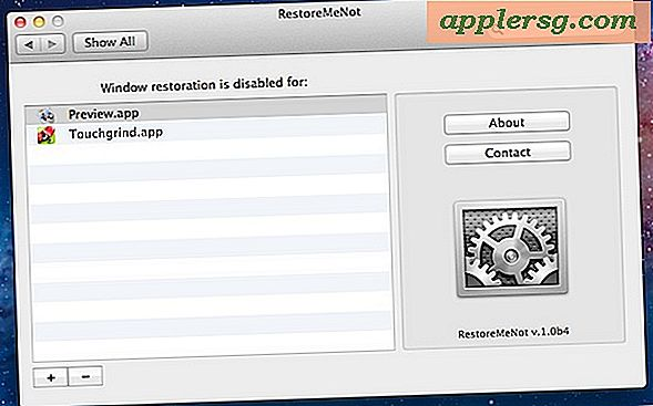 Beheer welke apps Windows herstellen in OS X Lion met RestoreMeNot