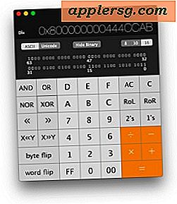 Öppna Scientific Calculator & Programmer Calculator i Mac OS X