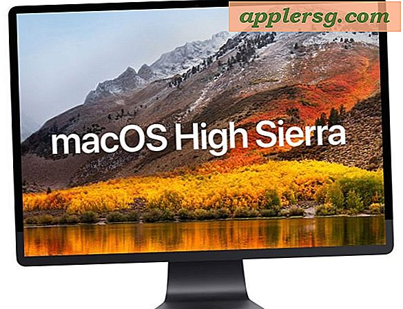 MacOS High Sierra-kompatibel Mac-liste