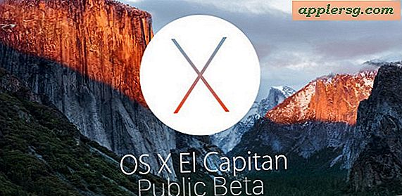 OS X El Capitan Public Beta 3 Disponible maintenant