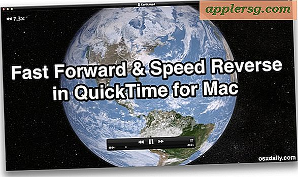 Fast Forward in QuickTime & Speed ​​Reverse met gebaren