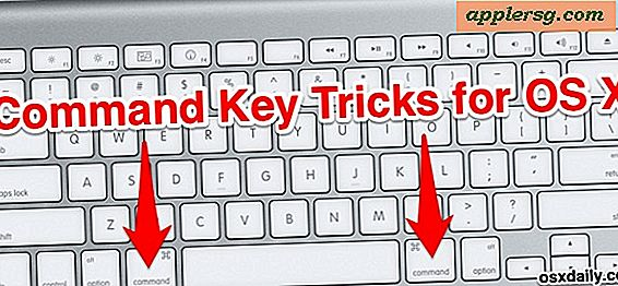 5 Command Key Tricks til OS X for at forbedre din Mac Workflow