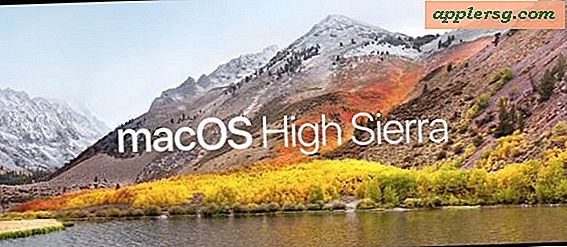 MacOS 10.13 High Sierra Release Date Set for Fall