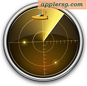 Sådan finder du Wi-Fi Link Connection Speed ​​i Mac OS X