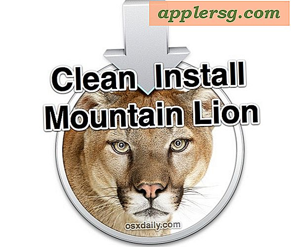 So reinigen Sie OS X Mountain Lion