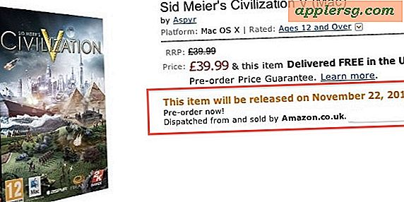 Civilisation V Udgivelsesdato for Mac er 22. november?