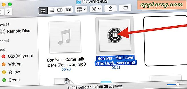 Putar file MP3 dan Audio di Finder Mac OS X dengan Icon Trick ini