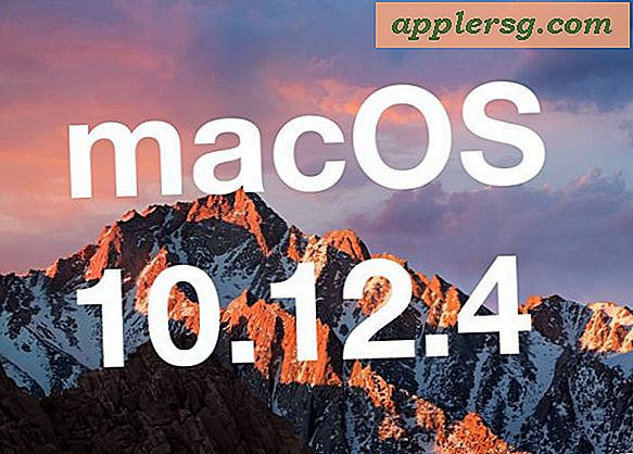 MacOS Sierra 10.12.4 Update Udgivet for download