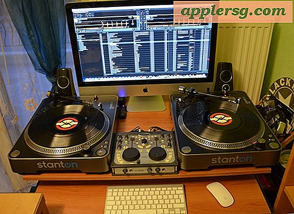 Mac Setup: The DJ's Desk