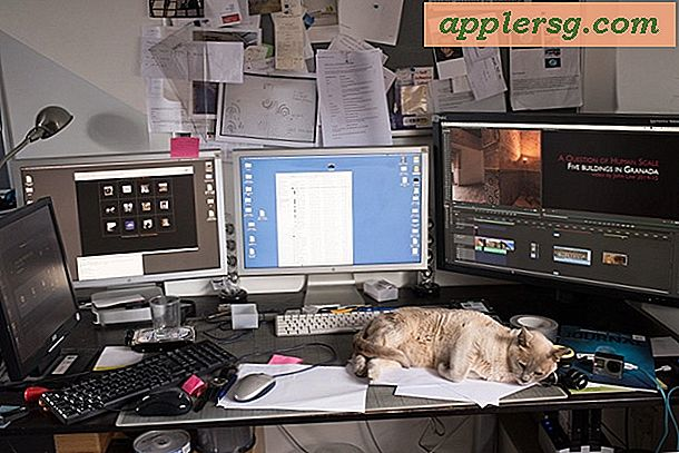 Mac-oppsett: Desk of a Professional Panographer
