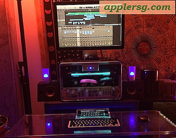 Mac Setup: Audio Mixing Engineer's Hollywood Studio med en ny Mac Pro