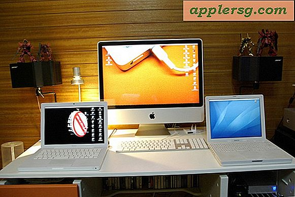 Mac Setup: MacBook, iMac, iBook