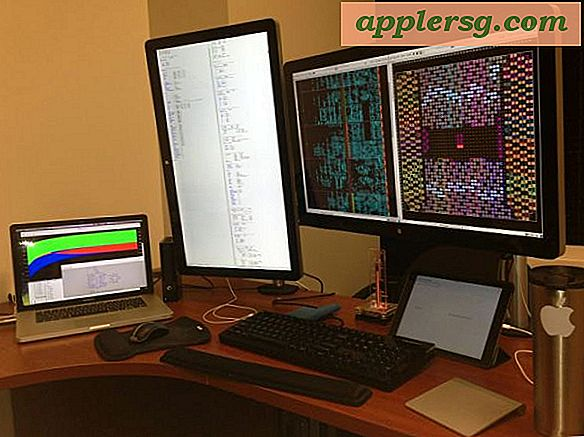 Mac-oppsett: Desk of Senior Scientist & FPGA Developer
