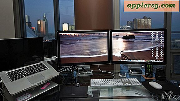 Mac setups: MacBook Pro met Dual Cinema Displays