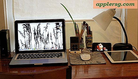 Mac setups: Simple Desk met een geweldige Apple-collectie
