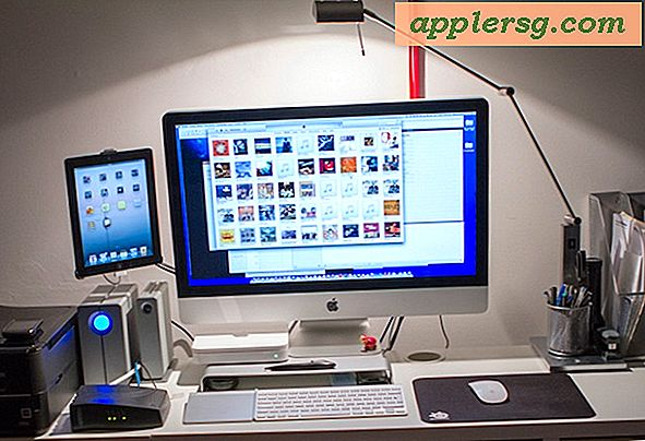Configuration Mac: bureau iMac du photographe amateur