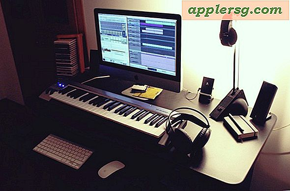 Mac Setup: iMac Amateur Music Studio